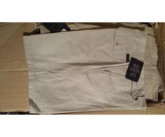 Stock pantaloncini corti in cotone da uomo varie marche e modelli