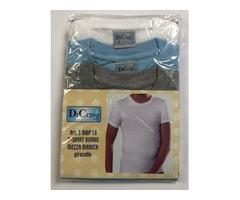 Pack 3 T-shirt Bambino Mezza Manica – Scollo Tondo